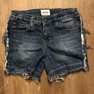 Hudson Jean shorts, kids size 12
